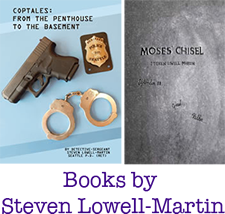 Book Covers: Coptales and Moses' Chisel